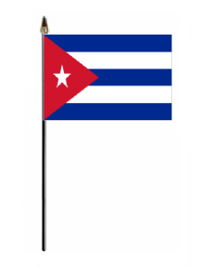 Cuba Country Hand Flag - Small.